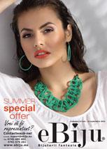 Catalog bijuterii fantezie eBiju 16 iulie - 15 septembrie 2016