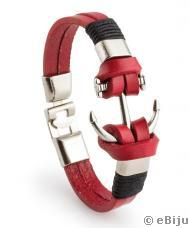 Brăţară unisex Red Anchor